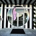 Outside entrance to the Eduardo Lira Art Gallery for the Miami 2.0 Artbox Show 2019!