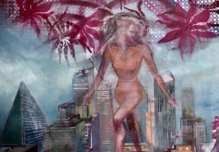 Pestilence - Oil Painting - Cynthia McLoughlin